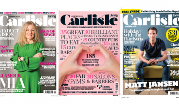 Image of Carlisle Living Magazine front covers